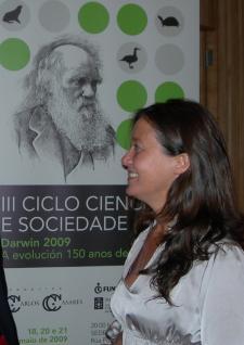 María Martinón falou da evolución humana a través da dentición