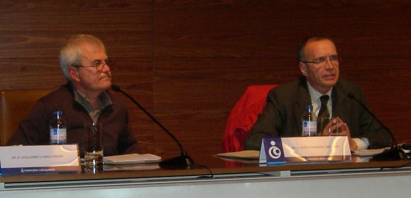 Guillermo Llorca e Javier Fernández Sebastián