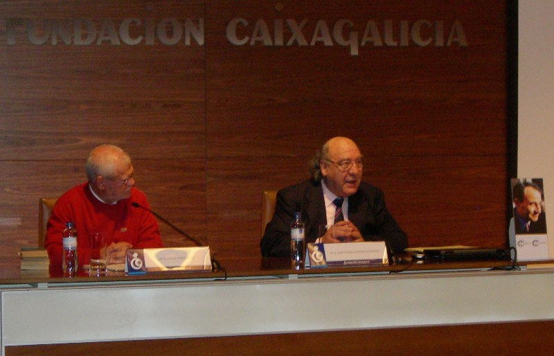 Ramón Yáñez e Xosé Ramón Barreiro