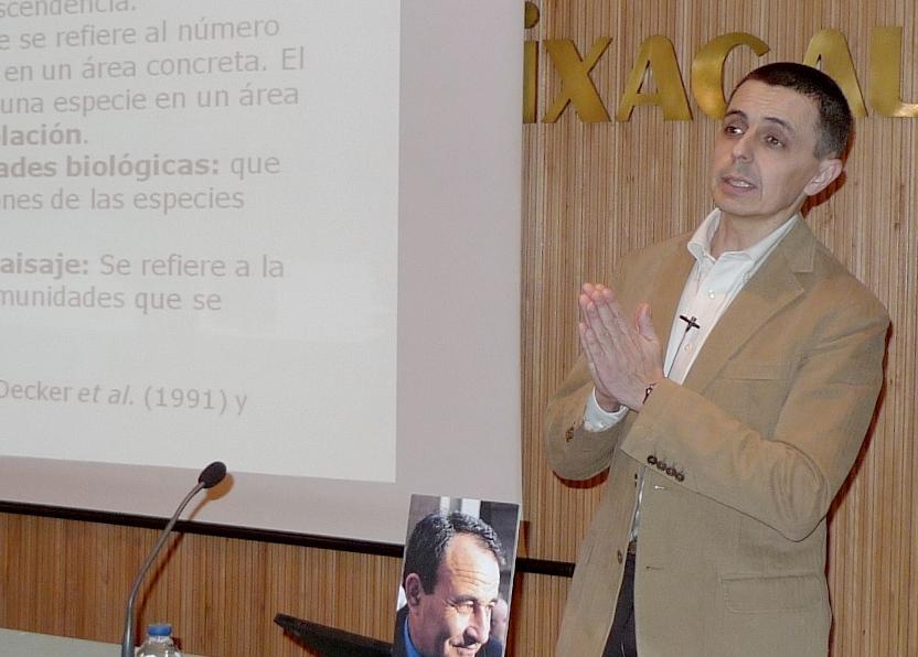 Francisco Pando pechou o IV Ciclo Ciencia e Sociedade da Fundación Carlos Casares cunha conferencia sobre o GBIF