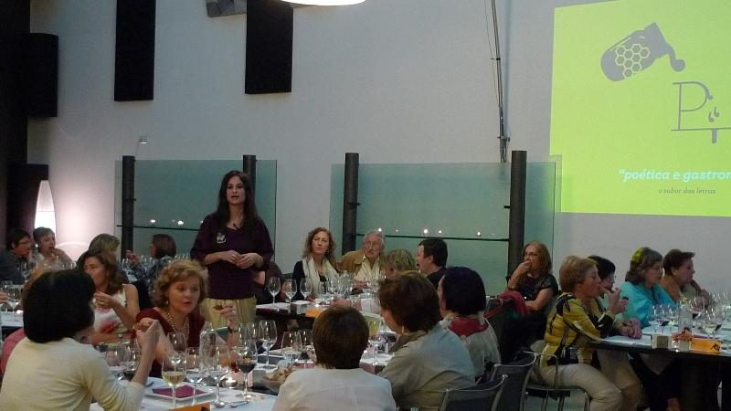 """""""O Sabor das Letras"""" - Yolanda Castaño na súa conferencia """"Poética e gastronomía"""""""