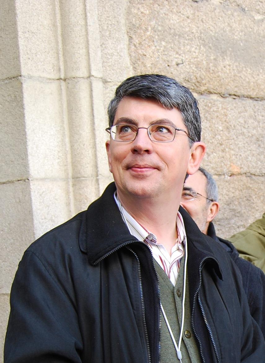 Marcos Valcárcel no roteiro literario de Carlos Casares. Ourense, decembro de 2007