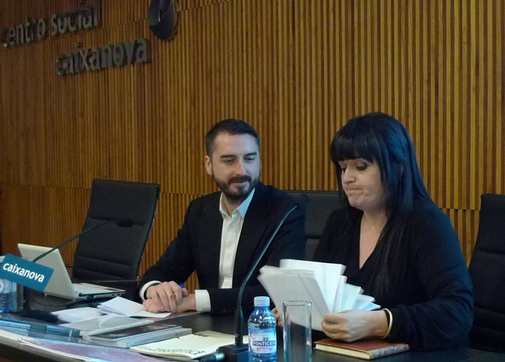 Agustín Pérez Rubio foi presentado por Encarna Lago